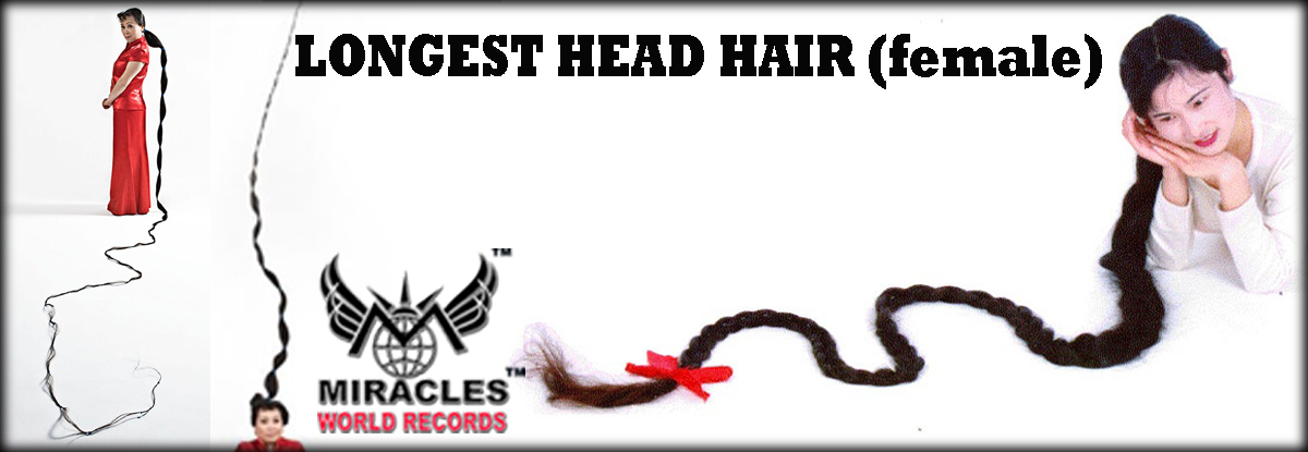 Longest head hair (female)