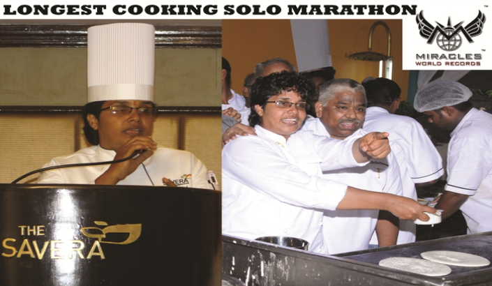 A00055  LONGEST COOKING SOLO MARATHON