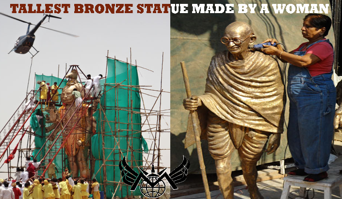 TALLEST BRONZE STATUE MADE BY A WOMAN