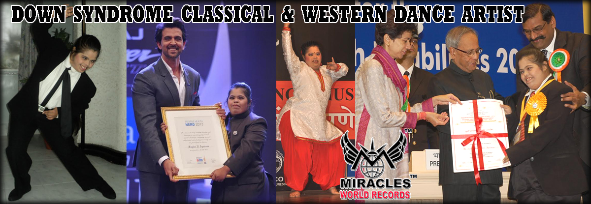 DOWN SYNDROME CLASSICAL & WESTERN DANCE ARTIST