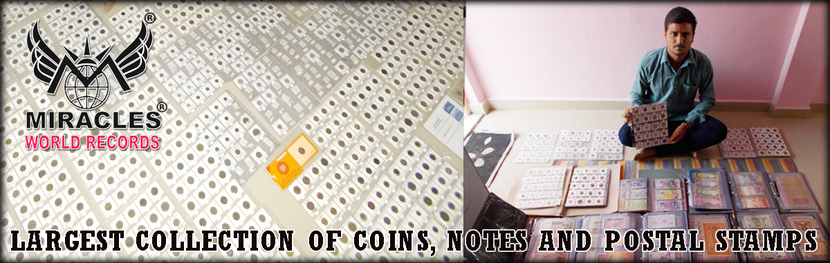 LARGEST COLLECTION OF COINS , NOTES AND POSTAL STAMPS