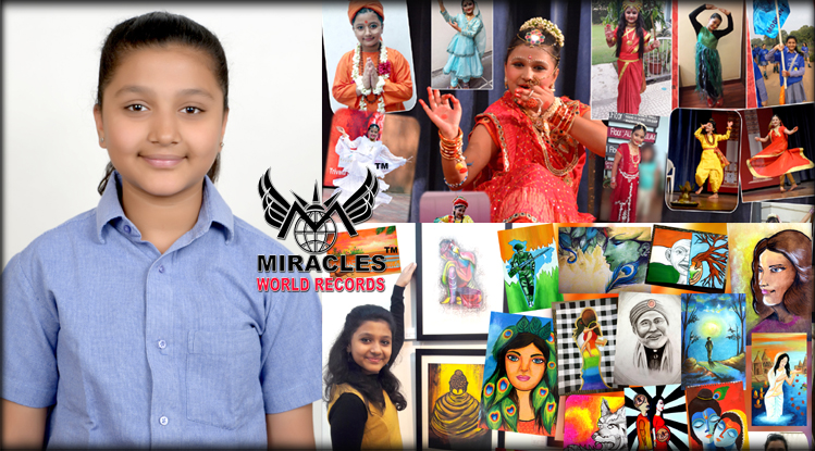 YOUNGEST TO WIN MAXIMUM AWARDS IN ART & CULTURAL ACTIVITIES