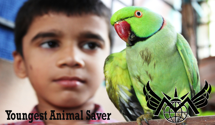 Youngest Animal Saver