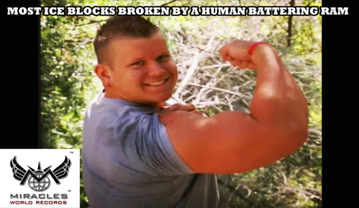 A00065  MOST ICE BLOCKS BROKEN BY A HUMAN BATTERING RAM