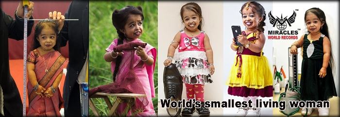 World's smallest living woman