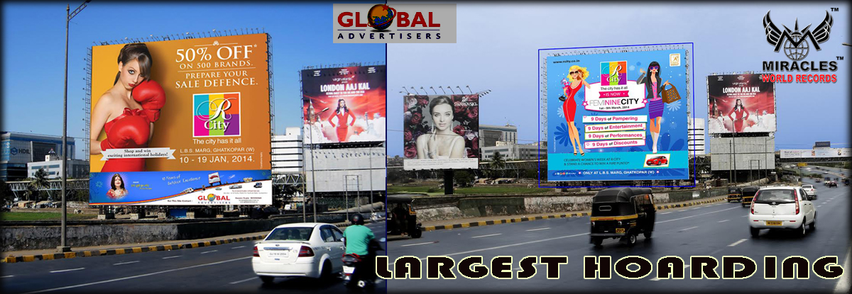 LARGEST HOARDING