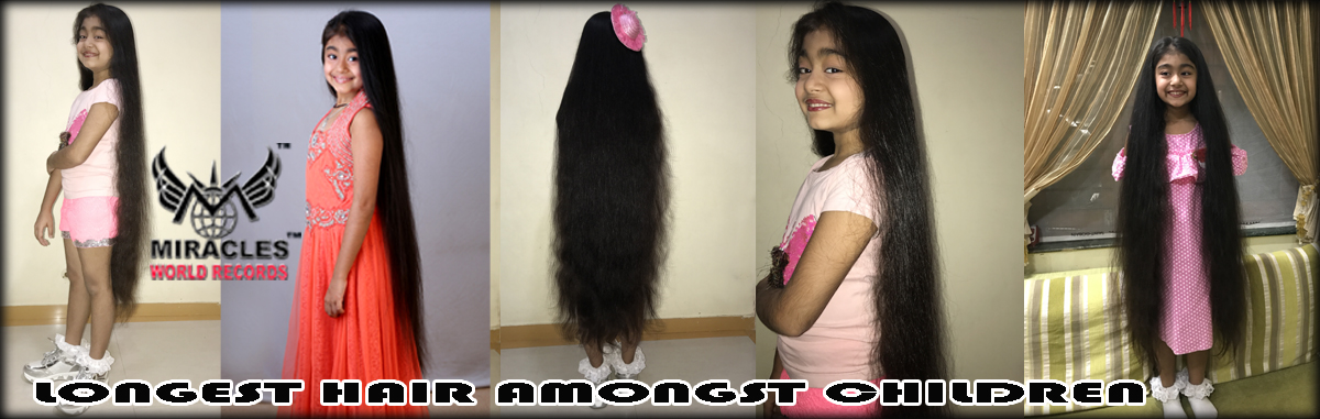 LONGEST HAIR AMONG CHILDREN