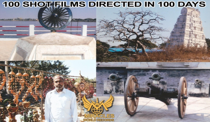 100 SHOT FILMS DIRECTED IN 100 DAYS
