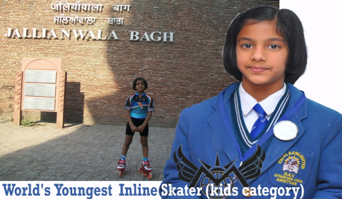 World's Youngest Inline Skater (kids category)